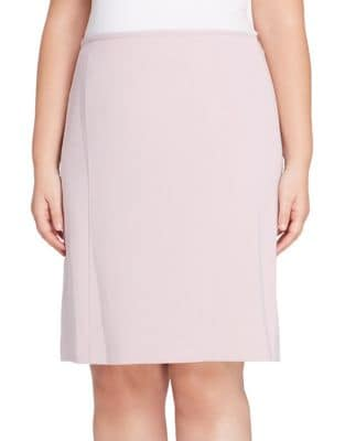 Plus Ponte Pencil Skirt...