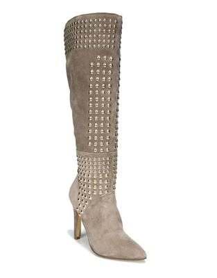 Danica Suede Tall Boots by Fergie
