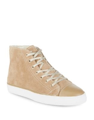 Suede High-Top Sneakers by Kate Spade New York