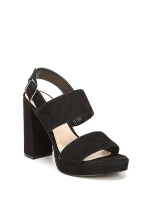 Fiana Suede Platform Sandals by Fergie