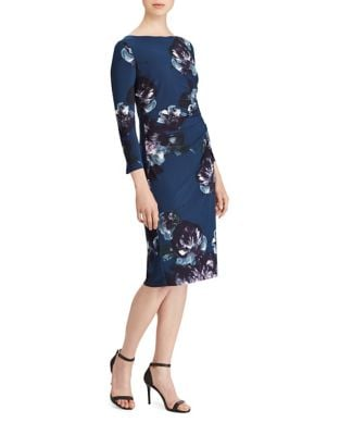 Floral Jersey Dress by Lauren Ralph Lauren