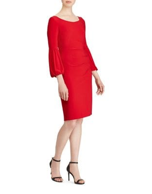 Bell Sleeve Jersey Dress by Lauren Ralph Lauren
