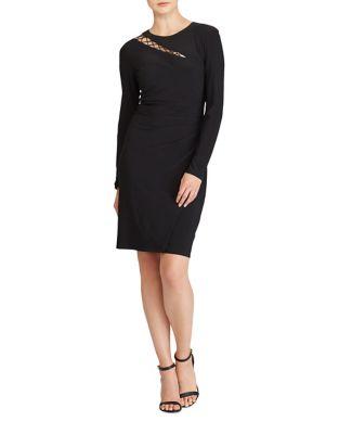 Cut-Out Jersey Dress by Lauren Ralph Lauren