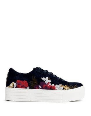 Abbey 2 Floral Suede Sneakers by Kenneth Cole New York