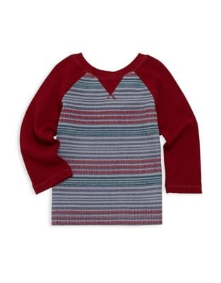 Toddlers  Little Boys TwoPiece Striped Top  Pants Set
