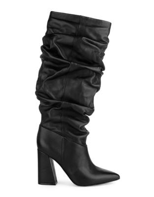 Genvieve Leather Mid-Calf Boots by Kenneth Cole New York