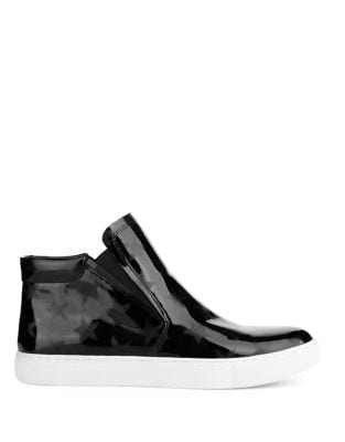 Kalvin Leather Sneaker Boots by Kenneth Cole New York