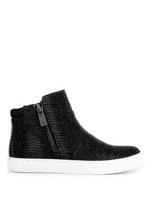 Kiera Leather Sneaker Boots by Kenneth Cole New York