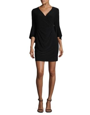 Petite Flared Wrap Dress by Lauren Ralph Lauren