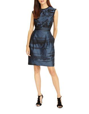 Stripe Sheath Dress by Phase Eight