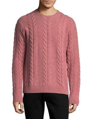 Wool Cable-Knit Sweater...