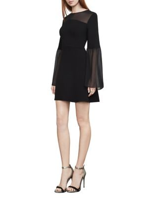 Finley Bell-Sleeve A-Line Dress 500087595174