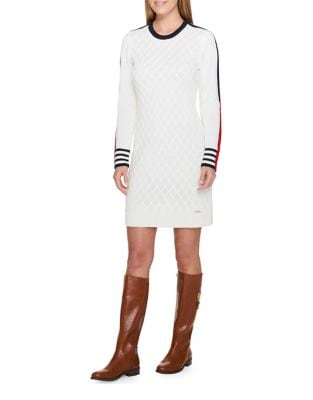 Textured Sweater Dress by Tommy Hilfiger