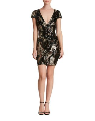 Sequined Bodycon Dress by Dress The Population
