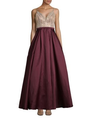 Sequin Ball Gown by Xscape
