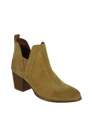 Kastro Western Suede Booties by Mia