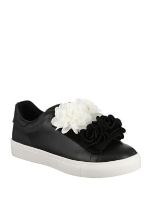 Primrose Faux Leather Sneakers by Mia
