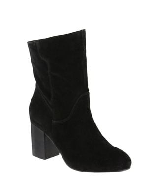 Cobain Slouch Suede Booties by Mia