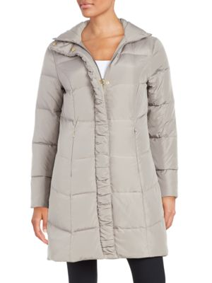 Quilted Faux Fur-Lined Jacket 500087601720