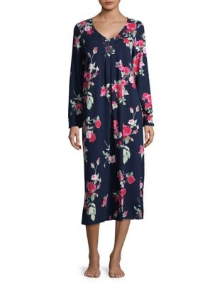 Floral Cotton Sleep Gown...