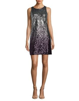 Sequin Ombre Sheath Dress by Vince Camuto