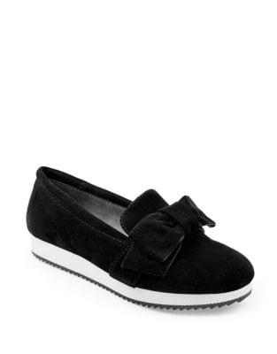 Garvey Suede Slip-On Sneakers by Adrienne Vittadini