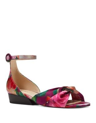 Lumsi Satin Dress Sandals by Nine West