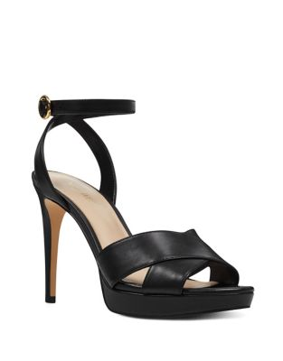 Quisha Leather Dress Sandals by Nine West