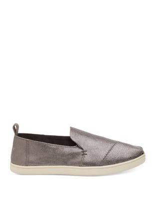 Decnstalpa Leather Slip-On Sneakers by TOMS