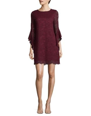 Floral Lace Shift Dress by Laundry by Shelli Segal