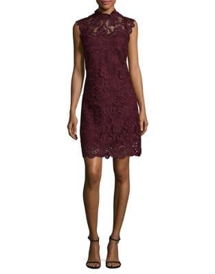 Sleeveless Lace Dress by Laundry by Shelli Segal