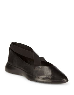 Danielle Leather Flats by Taryn Rose