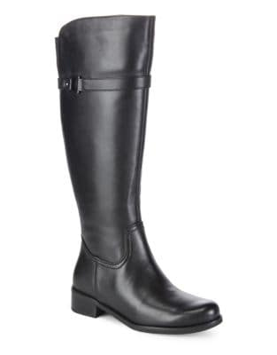 Waterproof Leather Riding Boot by Blondo