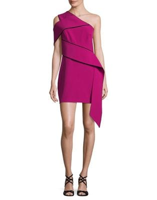 One-Shoulder Sheath Dress by AQ/AQ