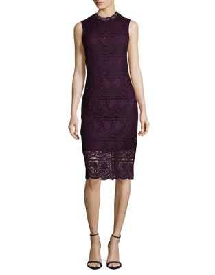 Lace Midi Dress by Shoshanna