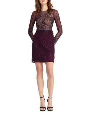 Lace Dress by ML Monique Lhuillier