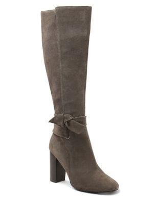 Laffy Suede Knee-High Boots by Kensie