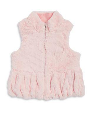 Little Girl's Faux Fur...