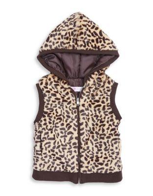 Little Girl's Cheetah...