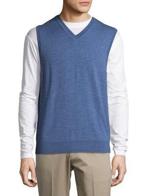Merino Wool Vest @...