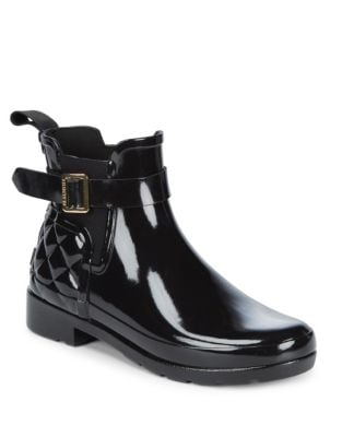 Quilted Rain Boot by Hunter