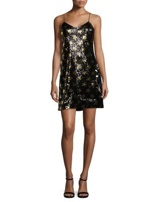 Sequined Star Mini Dress by Sam Edelman