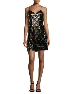 Sequined Star Mini Dress by Sam Edelman