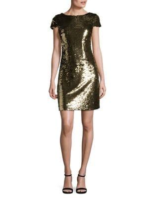 Sequined Sheath Dress by Sam Edelman