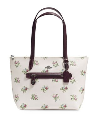 Floral Taylor Canvas Tote