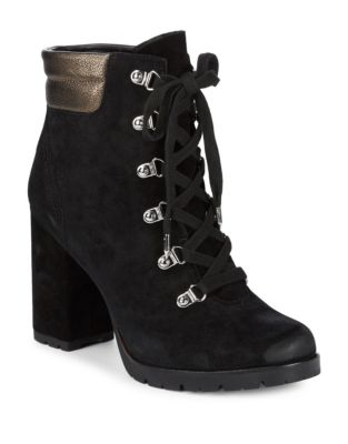 Suede Military Booties by Sam Edelman
