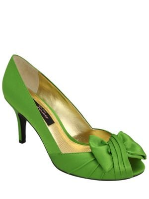 Forbes Satin Pumps by Nina