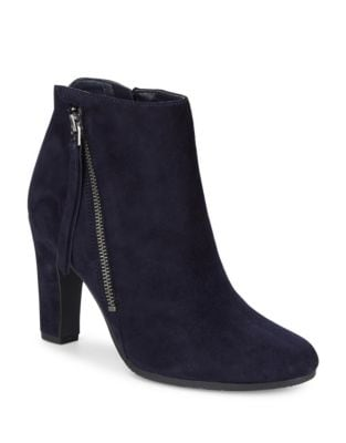 Suede Ankle Booties by Sam Edelman
