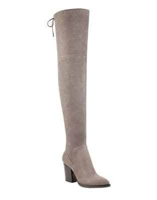 Adora Microsuede Over-The-Knee Boots by Marc Fisher LTD