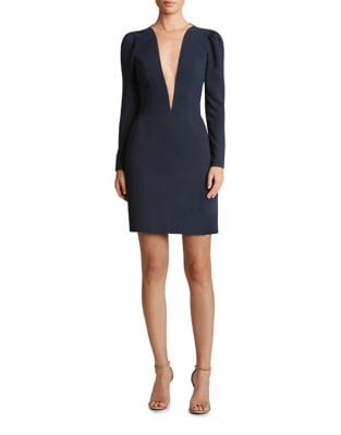 Plunging Sheath Dress by Dress The Population